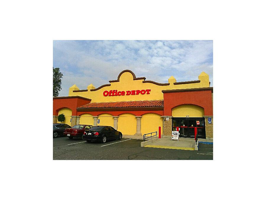Office Depot In Redlands Ca 602 Orange Street