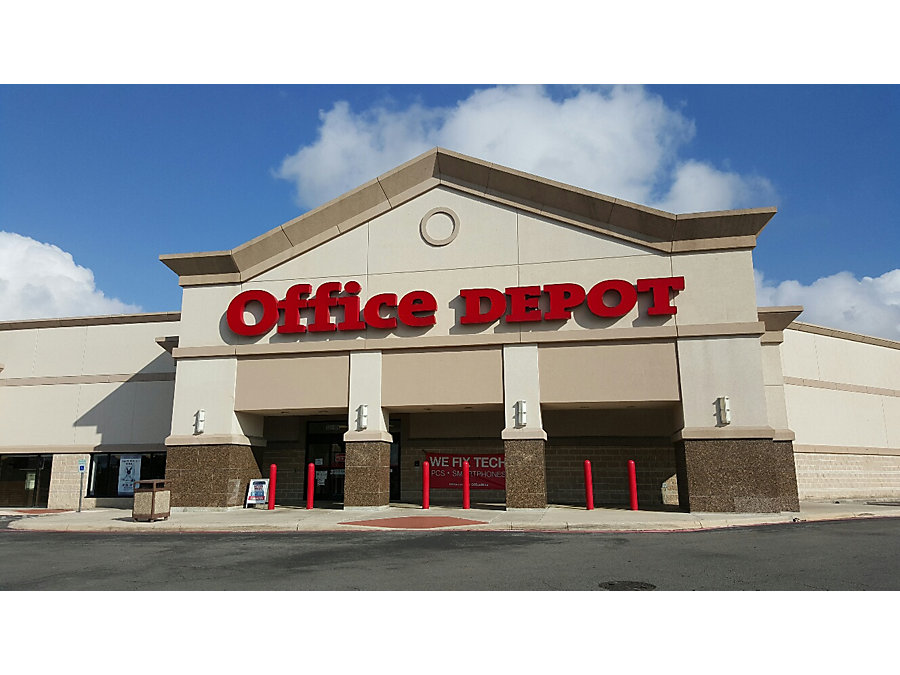 Office Depot In San Antonio Tx 321 N W Loop 410 Suite 101