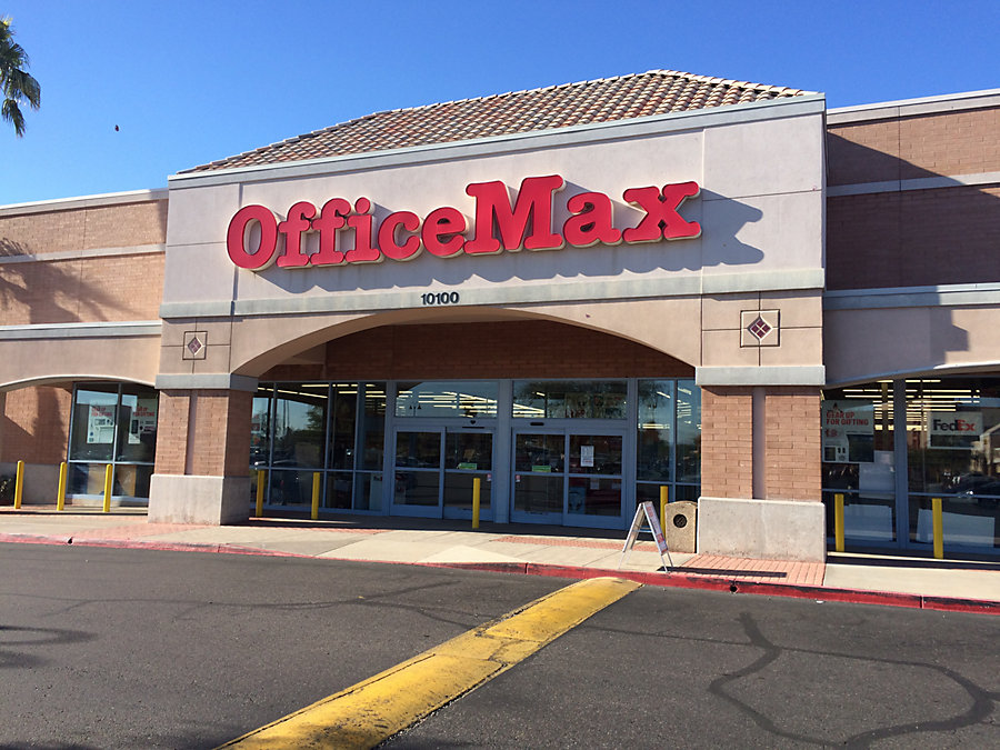office max in scottsdale,az - 10100 north 90th street