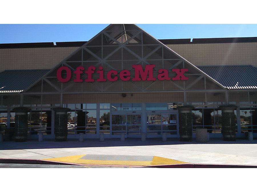 office max in phoenix az 4519 e thomas road