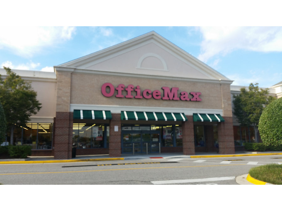 Office Max In Chesapeake Va 1332 Greenbrier Parkway
