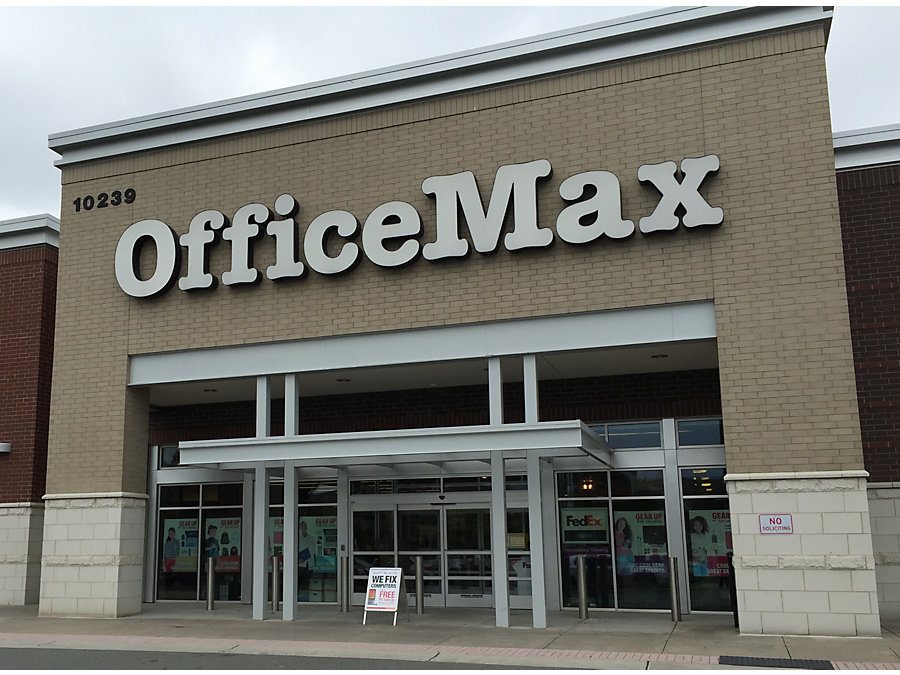 Office Max In Charlottenc 10239 Perimeter Parkway