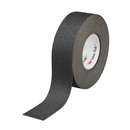 "3M™ Safety-Walk™ 610 Series Slip-Resistant General-Purpose Tape And Tread, 2"" x 720"", Black"