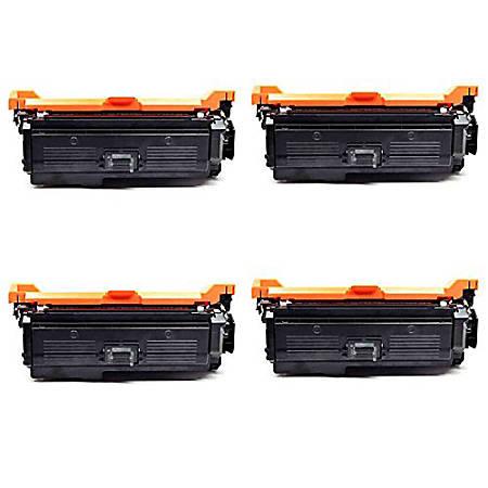 M&A Global Cartridges (HP 646X / CE264X) High-Yield Remanufactured Black Toner Cartridges, CE264X 4PK CMA, Pack Of 4