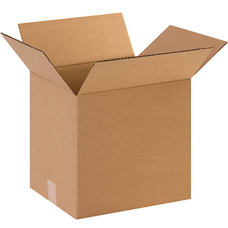 """Office Depot® Brand Corrugated Boxes, 14""""H x 12""""W x 14""""D, 15% Recycled, Kraft, Bundle Of 25"""