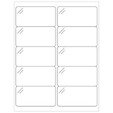 Office Depot Brand Crystal Clear Rectangle