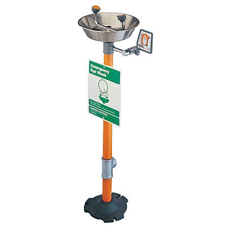 Pedestal Mounted Eye Washes, 12 in