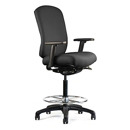 "Neutral Posture® Cozi™ Mid-Back Chair, 45""H x 26""W x 26""D, Black"