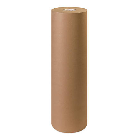 "Office Depot® Brand 100% Recycled Kraft Paper Roll, 30 Lb, 30"" x 1,200'"