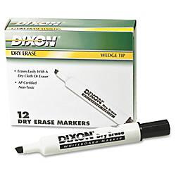 Ticonderoga Dry Erase Whiteboard Markers Broad