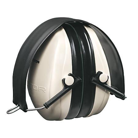 3M™ PELTOR™ Optime™ 95 Behind-the-Head Earmuffs, Black/White