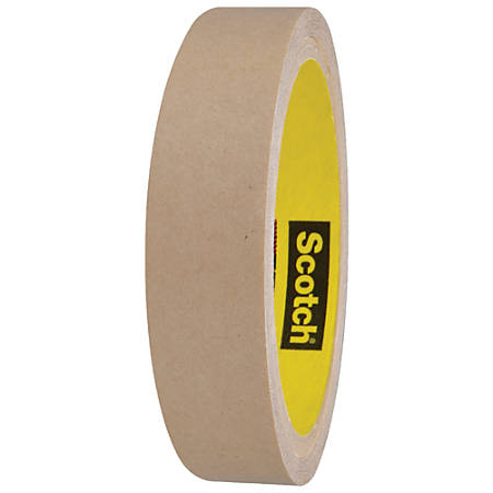 "Scotch® 9482PC Adhesive Transfer Tape Hand Rolls, 3"" Core, 1"" x 60 Yd., Clear, Case Of 36"