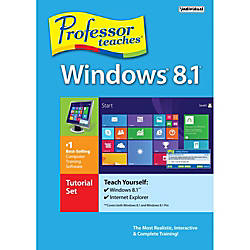 Professor Teaches Windows 81 Tutorial Set