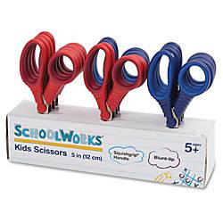Fiskars Schoolworks 5 Kids Scissors Classpack
