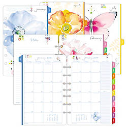 Day Timer Kathy Davis  Page Per Month Planner Refill   X