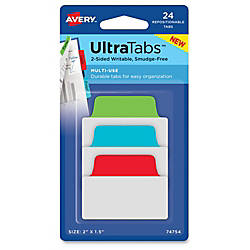 Avery reg UltraTabs Repositionable Multi Use
