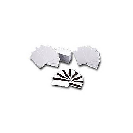 "Zebra Premier Card - 2.12"" Width x 3.38"" Length - 500 - White"