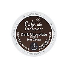 Caf Escapes Dark Chocolate Hot Cocoa