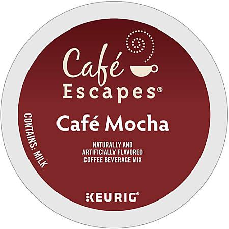 Cafe Escapes™ Cafe Mocha K-Cups®, Box Of 24