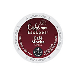 Cafe Escapes Cafe Mocha K Cups