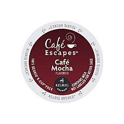 Cafe Escapes Cafe Mocha K Cups