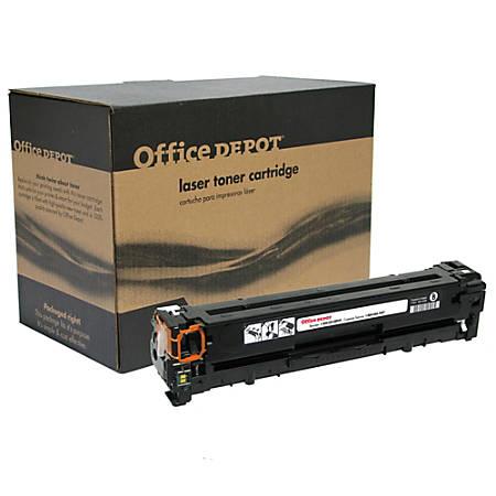 Office Depot® Brand OD1215B (HP 125A / CB540A) Remanufactured Black Toner Cartridge