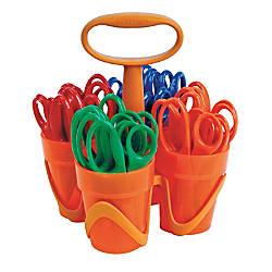 Fiskars Kids Scissors With Art Caddy