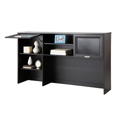 Realspace Magellan Collection Hutch Espresso By Office Depot Officemax