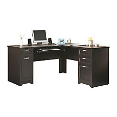 Shop Corner L Shaped Desks Office Depot Officemax