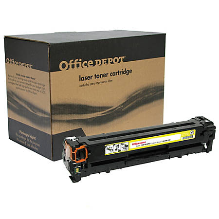 Office Depot® Brand OD1215Y (HP 125A / CB542A) Remanufactured Yellow Toner Cartridge