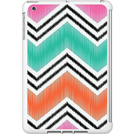 OTM iPad Mini White Glossy Case Bold Collection, Pink - For iPad mini - Bold - White, Pink - Glossy