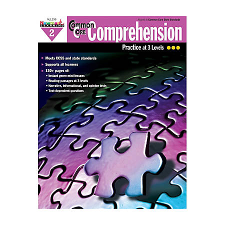 Newmark Learning Common Core Comprehension Workbook, Grade 2