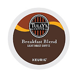 Tullys Coffee Breakfast Blend Coffee K