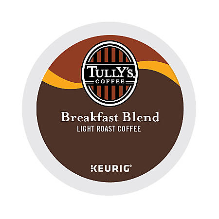 Tully's Coffee® Breakfast Blend Coffee K-Cups®, Box Of 24