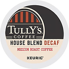 Tullys Coffee House Blend Decaffeinated Coffee