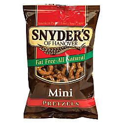 Snyders Mini Pretzels 15 Oz Pack