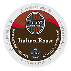 Tullys Coffee Italian Roast Coffee K