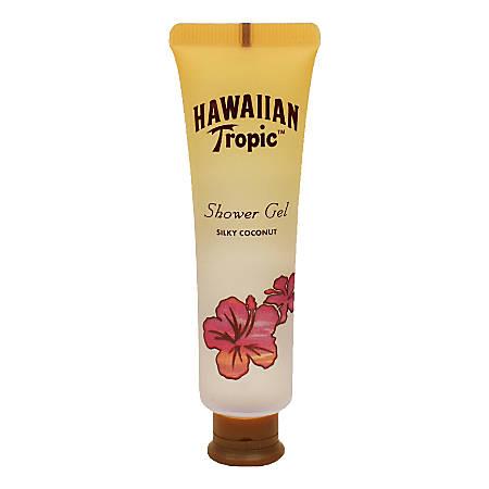 Aqua/Aston Hawaiian Tropic Silky Coconut Body Wash, 1.35 Oz, Pack Of 144 Tubes