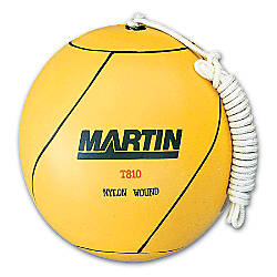 Martin Rubber Tetherball Yellow