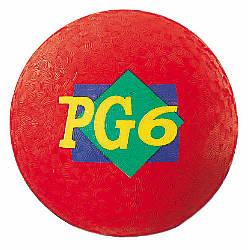 Martin Playground Ball 6 Red
