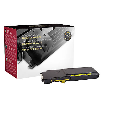Clover Imaging Group High-Yield Remanufactured Toner Cartridge, Yellow, 200738P (Dell™ 331-8430 / MD8G4 / 331-8426 / RGJCW)