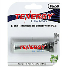 Tenergy Lithium Ion Battery B 18650B