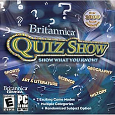 Britannica Quiz Show Download Version