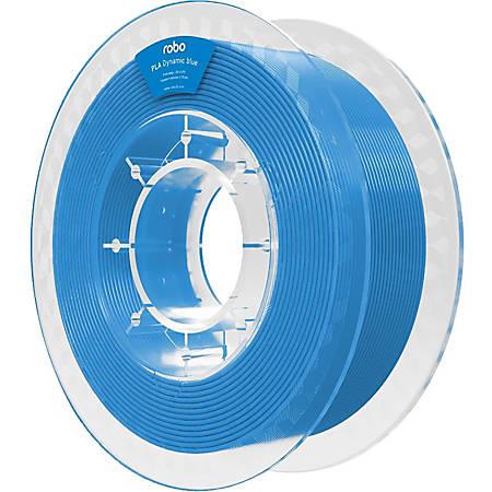 ROBO 3D PLA Dynamic Blue 500g - Dynamic Blue - 68.9 mil Filament - Small (S) Spool