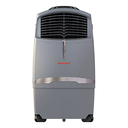 Honeywell CO30XE Evaporative Air Cooler For Indoor and Outdoor Use - 30 Liter (Grey) - Cooler - 320 Sq. ft. Coverage - Activated Carbon Filter - Gray