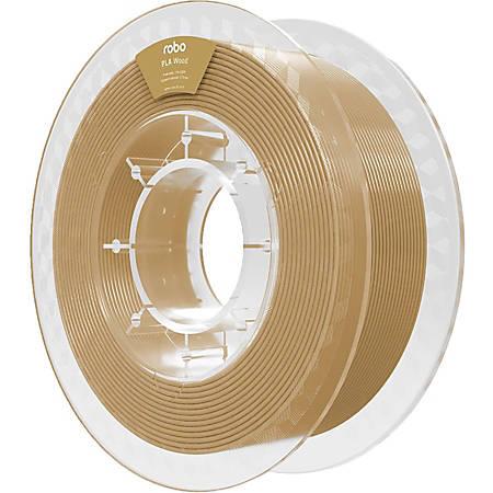 ROBO 3D PLA Wood 500g - Wood - 68.9 mil Filament - Small (S) Spool