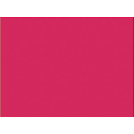 """Riverside® Groundwood Construction Paper, 100% Recycled, 18"""" x 24"""", Red, Pack Of 50"""