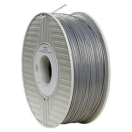 Verbatim ABS 3D Filament 1.75mm 1kg Reel - Silver