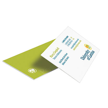 Custom Full-Color Luxury Heavyweight Business Cards, 34 pt., 2-sided, Box Of 50