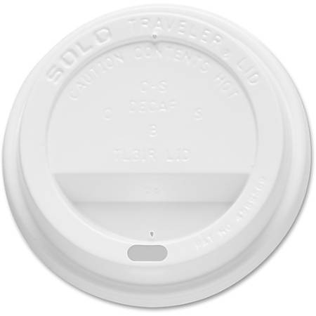 Solo Cup Hot Traveler Cup Lid - 1000 / Carton - White